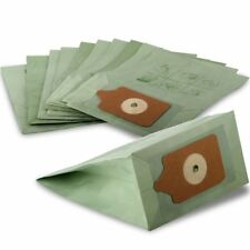 10 PACK - FITS NUMATIC HENRY HOOVER VACUUM CLEANER DOUBLE LAYER PAPER DUST BAGS