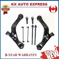 8 Piece Front Control Arm Sway Bar Tie Rod End Kit for Ford Escape 2005 2006