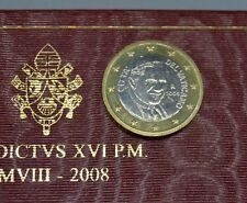 VATICAN 2008 : 1 euro BU.