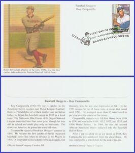 USA5 #4080 U/A MYSTIC FDC Roy Campanella Baseball Sluggers