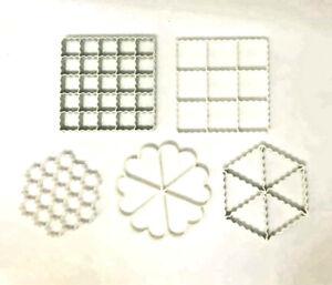 Plastic Ravioli Mold Maker Cutter Dough Press قوالب برك