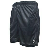 JNICE Men's Badminton Woven Pants Shorts Black Clothing Racqeut R-991-BK