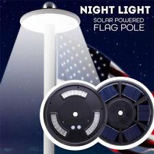 Solar Lampe 42 LED Fahnenmast Beleuchtung Nachtlicht Auto Yard Gartenleuchte