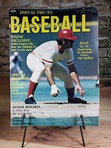 1974 Sports All-Stars baseball magazine Pete Rose Cincinnati Reds, Hank Aaron