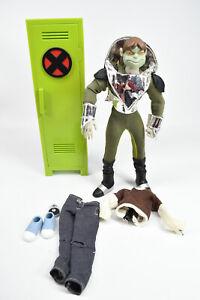 "X-Men Evolution Mutant Outcasts Toad 8"" Action Figure Toy Biz 2001 w/ Locker"