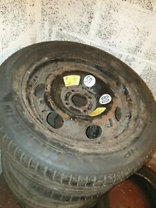 Citroen C3 C4 GRAND PICASSO Spare Wheel And Tyre 215 55 16