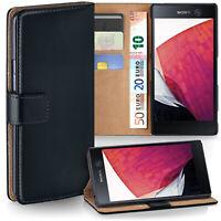 360 Grad Schutz Hülle für Sony Xperia M5 Etui Klapp Hülle Neu Komplett Book Case