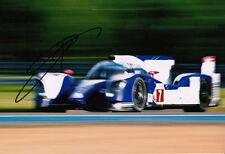 Kazuki Nakajima mano firmato TOYOTA RACING FOTO 12X8.