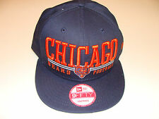 New Era Hat Cap NFL Football Chicago Bears Lateral Snapback Hat Adjustable OSFM