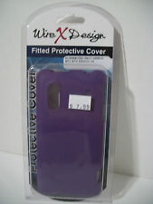 Wire X design fitted PURPLE protective cover HTC EVO design 4G CELL PHONE CASE