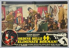 FOTOBUSTA 2, ORDINE DELLE SS: ELIMINATE BORMAN, BARDEM, PERCHY, GUERRA, NAZI