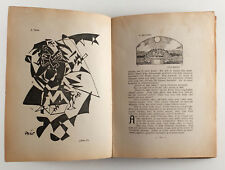 1919 Estonia August GAILIT Avant Garde Book KLOUNID JA FAUNID Vabbe Aren Vahtra