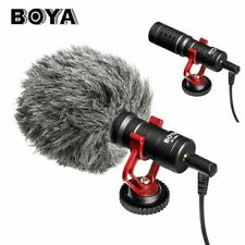 BOYA&BY-MM1 Cardioid Shotgun Microphone MIC for DSLR Camera Smartphone Camcorder