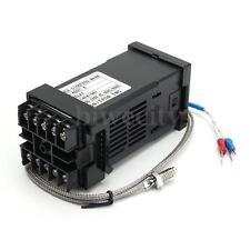 220V PID  REX-C100 Digital Temperature Controller + K Type Thermocouple 0-400 ℃