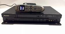 PIONEER DVR-560H-K 1080P HDMI DVD RECORDER with 160GB HD logitech harmony remote