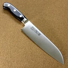 "Japanese PRO-M Kitchen Santoku Knife 6.7"" All purpose Meat & Fish cut SEKI JAPAN"