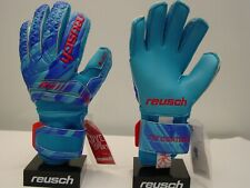 Reusch Soccer Goalie Gloves FIT Control Pro AX2 3970450S Ortho Tec Blue SAMPLE