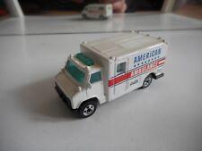 Hotwheels US Ambulance in White