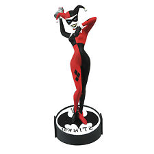 "Femme Fatales HARLEY QUINN Batman The Animated Series 9"" Vinyl Statue/Figure NIB"