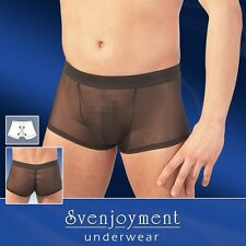 Sexy Boxer nero trasparente Tg M Svenjoyment Sexy shop toy intimo lingerieuomo