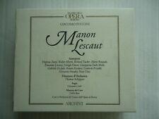 cd box Puccini Manon Lescaut Schippers € 15