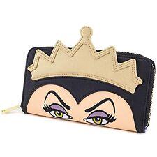 Loungefly Disney Evil Queen Zip Around Wallet NEW Women Carrier
