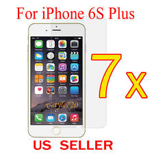 """7x Clear LCD Screen Protector Guard Cover Film For Apple iPhone 6s Plus 5.5"""""""