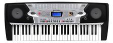 TECLADO PIANO ELECTRONICO INFANTIL 54 TECLAS 100 SONIDOS 100 RITMOS Y ATRIL MIC