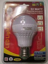 LED Light Bulbs 32 Watt Replacement Uses Approx 4 Watts