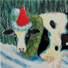 Benaya Natale mucca piastrella quadrata BAC104508