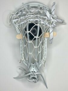 *NEW* Nike Lakota U Lacrosse Head Professionally Strung Traditional Pocket White