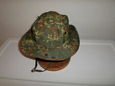 NEW GERMAN FLECKTARN CAMOUFLAGE TRILAM BOONIE HAT SIZE LARGE