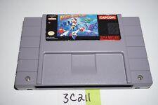 MEGA MAN X (Authentic) Super Nintendo Snes Video Game Cart Only RARE