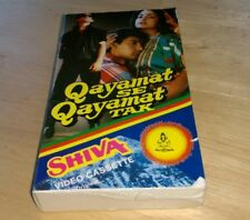 Qayamat Se Tak Video cassette Ameer Khan Juhi Chawla Shiva UK Anand Melind Hindi