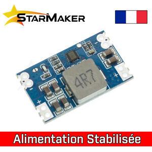 Alimentation stabilisée 3.3V 5V 9V 12V Module régulateur de tension 5A Step down