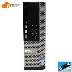 Dell Optiplex 9020 SFF Desktop PC Intel i7-4790 @3.6GHz 8GB RAM 500GB HDD Win 10