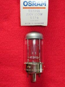 PROJEKTORLAMPE 230V 150W G17q Osram 58.8295 NEU OVP Lampe Projektion 588295