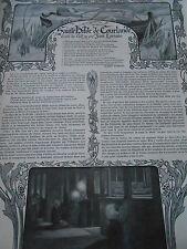 Sainte bible de courlande Conte de Noel Article Original Print 1904