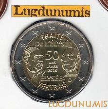 Allemagne 2013 2 Euro F Stuttgart FDC Traité Elysée coffret BU 40000 exemplaires