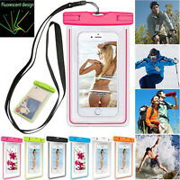 1*PVC Waterproof Dry Bag Case Cover For Cell Phone Touch Screen Underwater Pouch