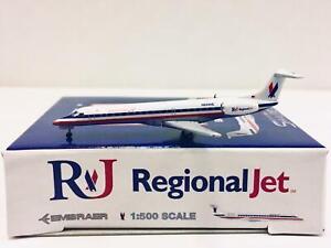 Skyliners/Herpa scale 1:500 American Eagle Airlines Embraer ERJ-145 N624AE