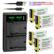 Kastar Battery LTD2 Charger for Genuine Kodak KLIC-7003 K7003 Battery & Charger
