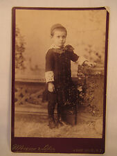 Antique Cabinet Card Photo Moreno 4 East 14th St New York NY