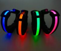 Dog Collar with LED Light PREMIUM QUALITY LED DOG COLLAR LIGHTED FOR SAFETY
