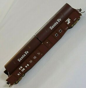 Walthers HO Scale Conrail 50' Cushion Coil Car Santa Fe Load 'covers' Brown CR