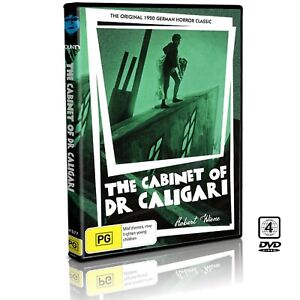 The Cabinet of Dr. Caligari DVD : (1920) Original Horror Movie : Brand New RARE