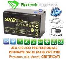 Batteria CICLICA al piombo 12V 12Ah per biciclette elettriche