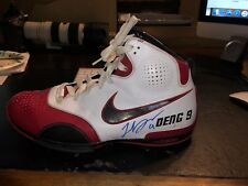 Luol Deng Signed Nike Shoe Autographed Player Exclusive PE