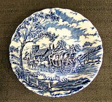 "Myott Staffordshire Royal Mail/Blue 5 1/4"" Fruit/Dessert Bowl"