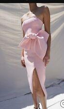Bow Midi Dress By Johnny